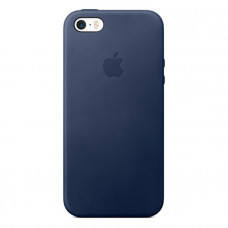 Чехол для iPhone Apple iPhone SE Leather Case Midnight Blue